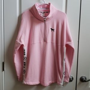 VS Pink Tunic Pullover Sweatshirt